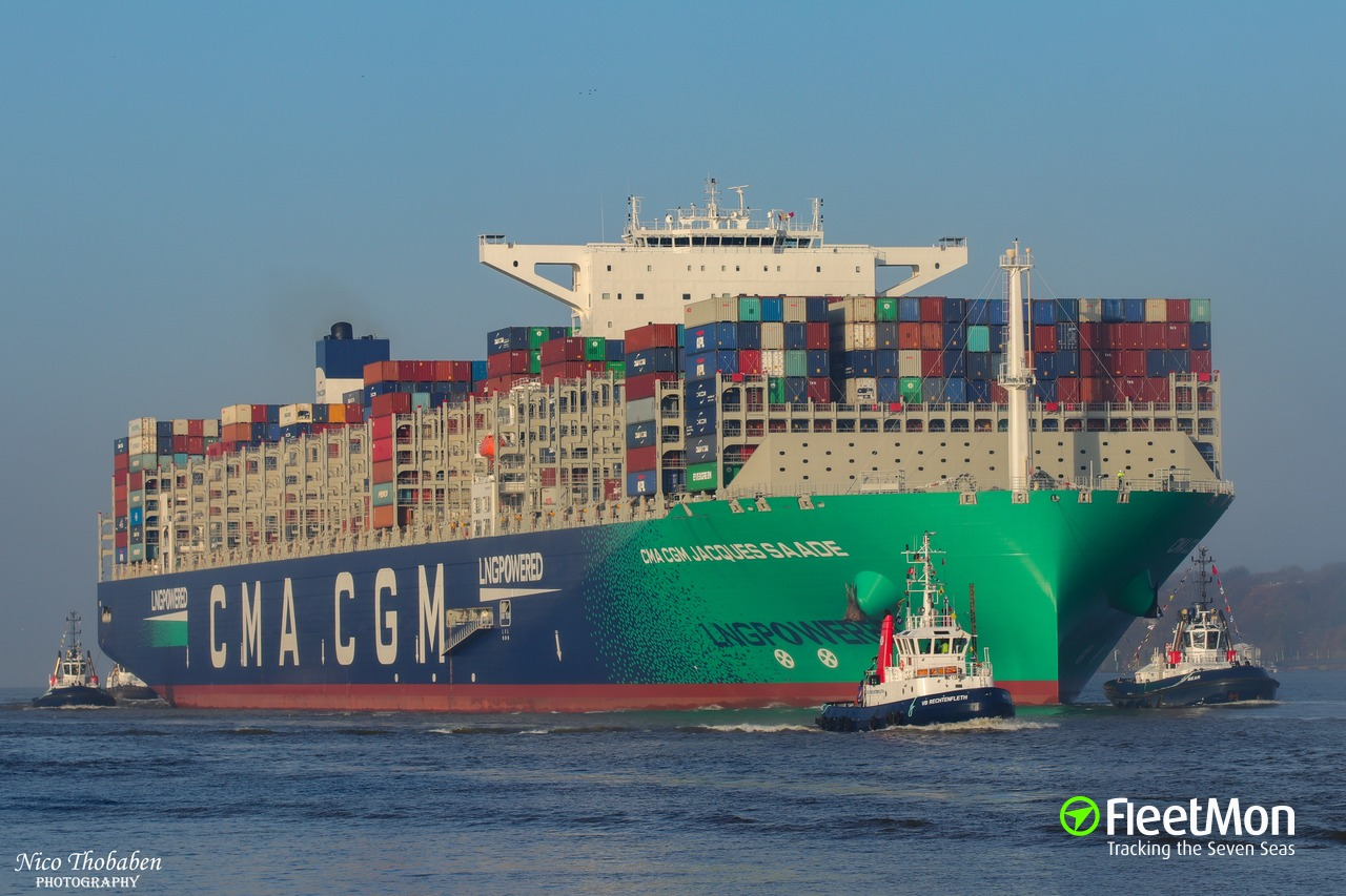 CMA CGM orders 22 new built LNG powered ships Alfa logistic family